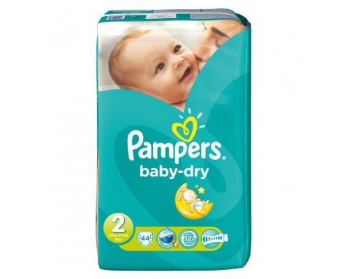 Pampers Baby-Dry Maat 3 6-10 kg Luiers Kruidvat M Pampers Baby-Dry - Maat 3 (Midi) 6-10 kg - Maandbox 198 Pampers Baby-Dry maat 3 promoties