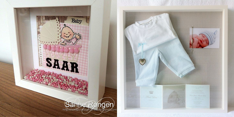 DIY voor babykamer en kraamcadeau