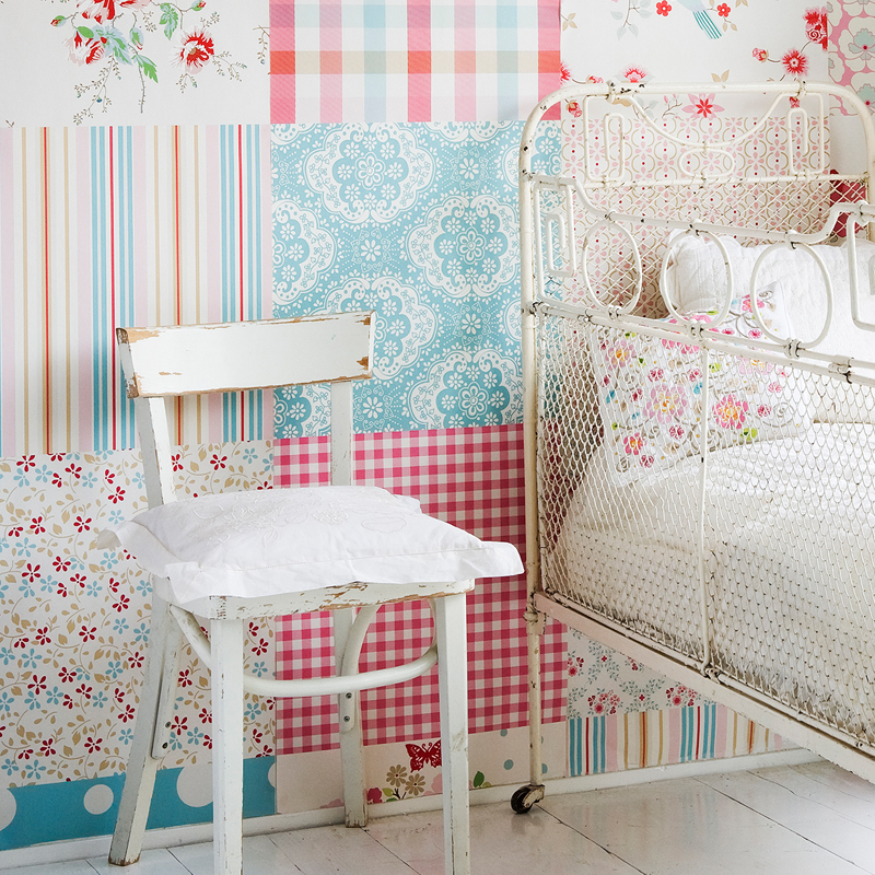 Behang Babykamer Rood : Babykamer behang archives ideen tips en de ...
