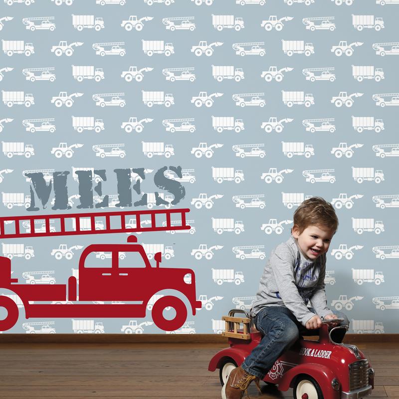 Muurstickers Babykamer Stoer: Babykamer jongen leuke muurstickers voor ...