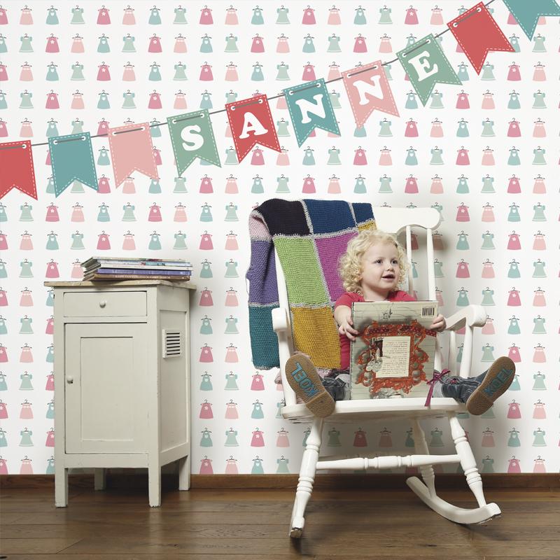 Tinkle&Cherry heeft behang en muurstickers voor een hippe ...
