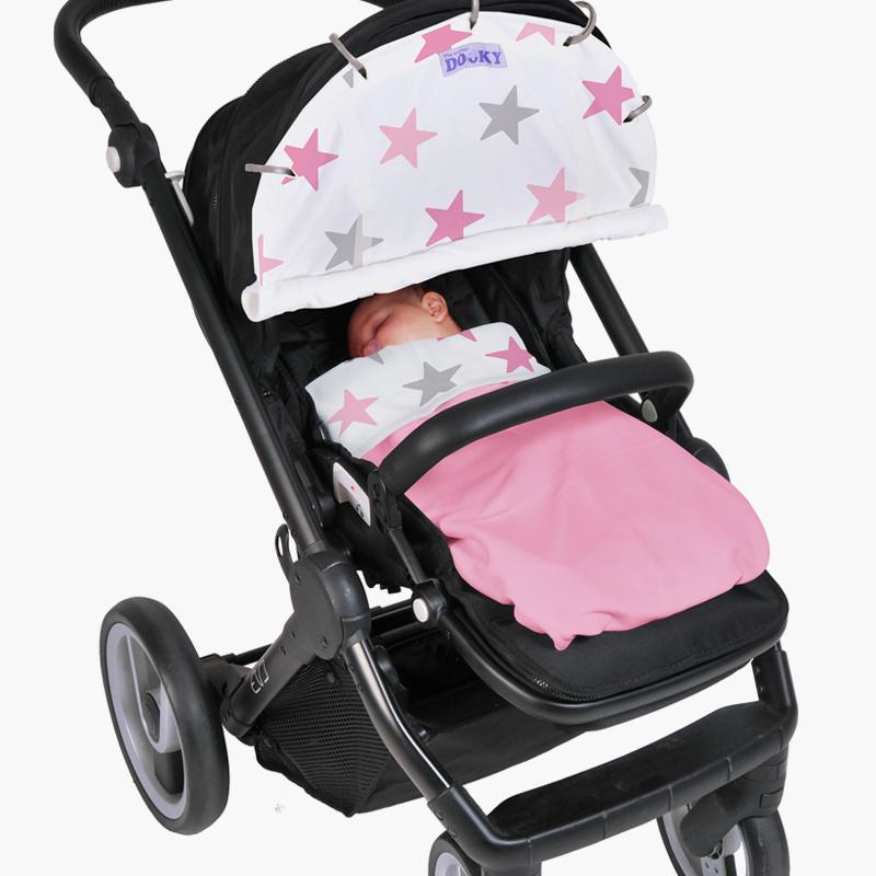 Win een Dooky Cover star + Dooky Blanket baby in pink of blue