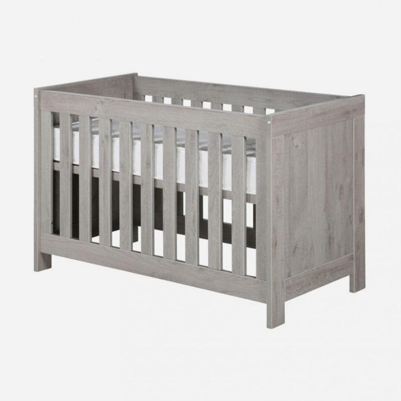 Inspiratie Babykamer Ravenna Grijs met ledikant commode en kast-2