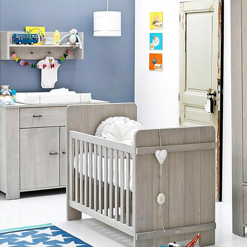 Babykamer Coming Kids Hopper met ledikant commode en linnenkast
