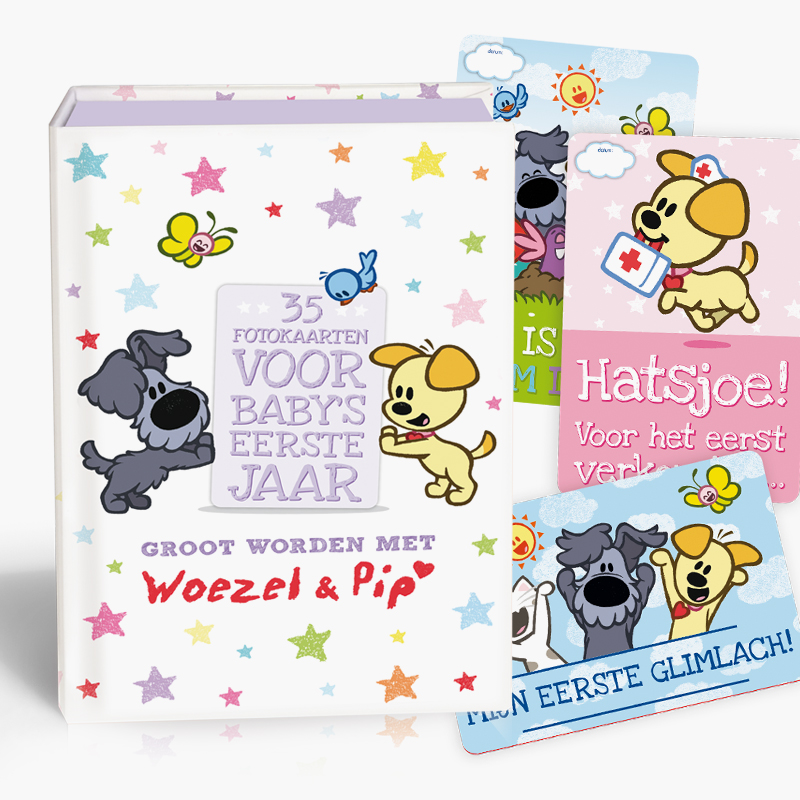 Win een Woezel en Pip cadeauset en de Groot worden met Woezel en Pip fotokaarten 3