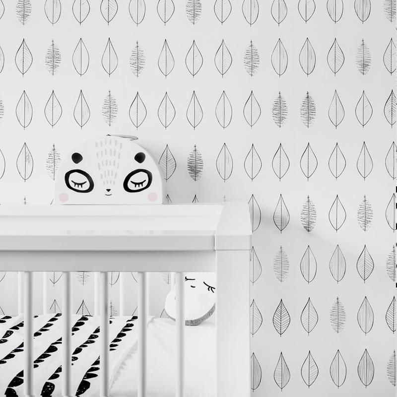 met een prachtige collectie behang maakt zoedt van elke babykamer, Deco ideeën