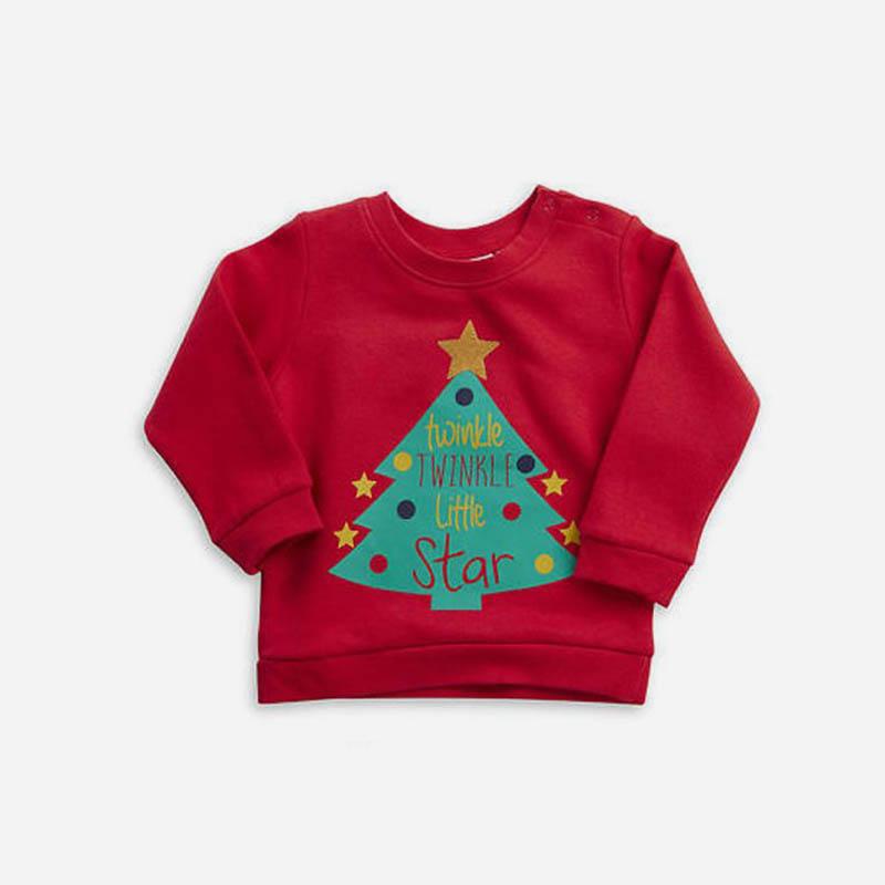 Babykleding Eerste Kerst.Tip 26 Super Schattige Babykleertjes Voor De Kerstdagen