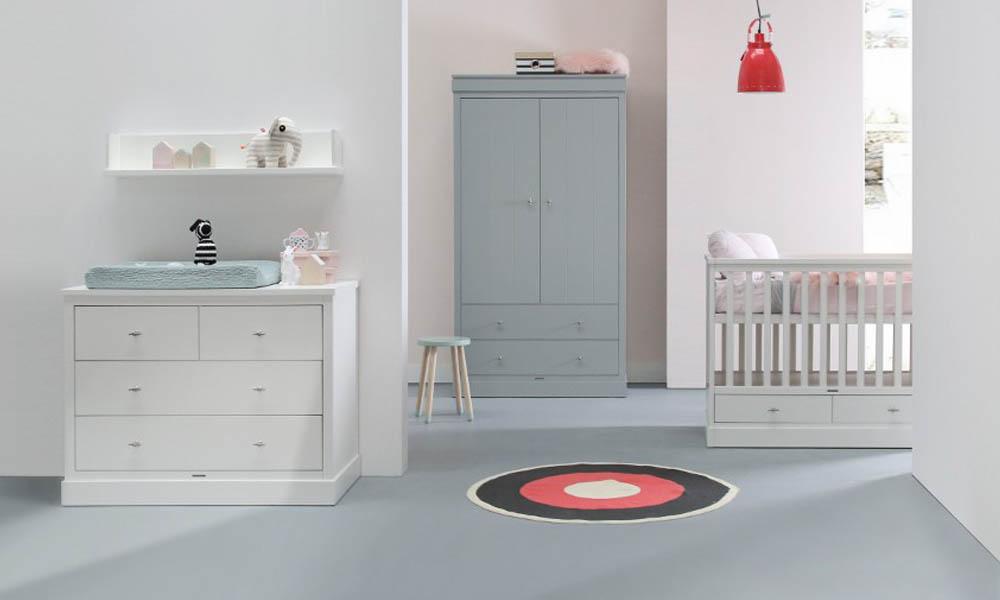 Kleuren Voor Babykamer : Inspiratie babykamer newport mix met commode ledikant en kast