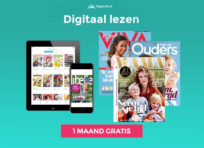 1 maand gratis tijdschriften van Kek Mama