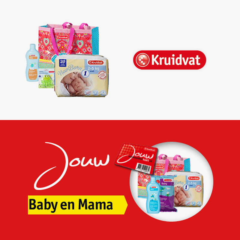 Kruidvat Babypakket met Gratis Babycadeaus