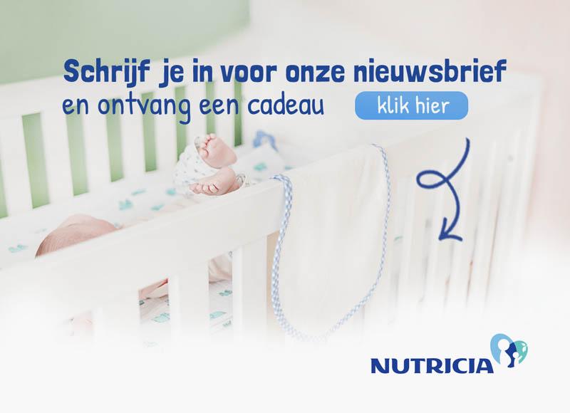 gratis cadeautje van Nutricia