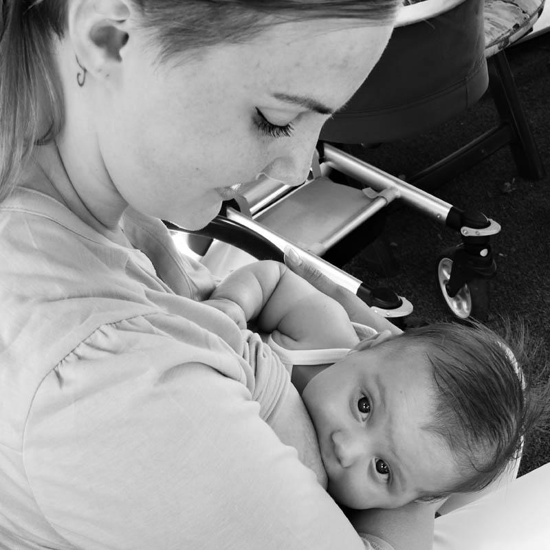 steken borstvoeding