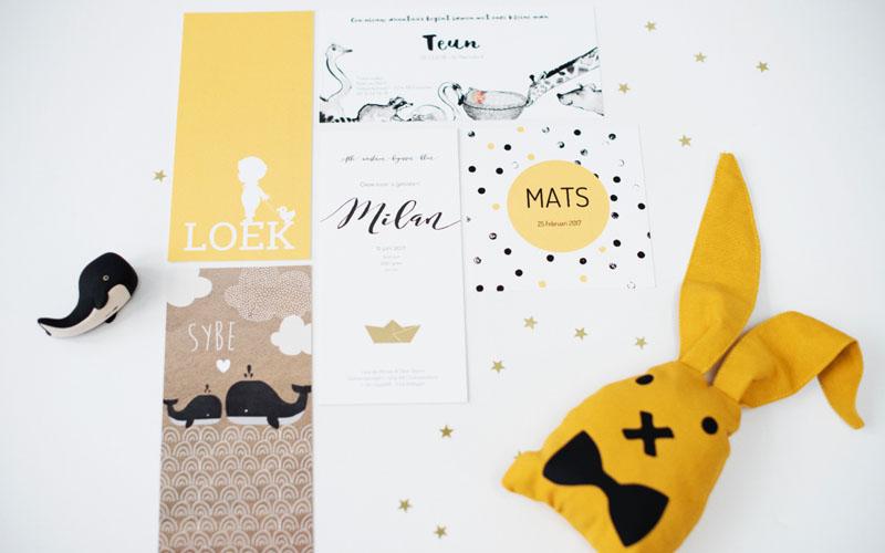 lief leuk & eigen geboortekaartjes! - babystraatje.nl