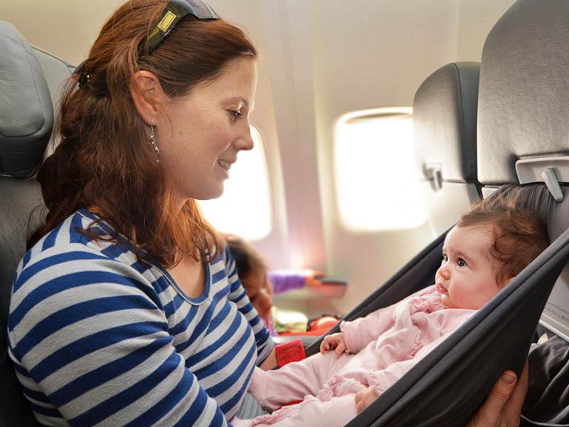 Vliegvakantie baby checklist