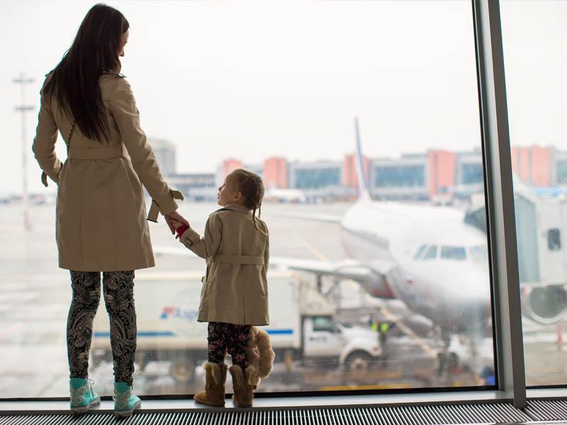 tips vliegen met baby