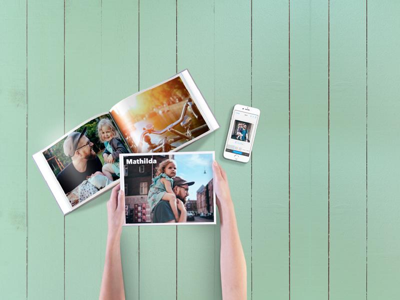 Met de app van Pixum vakantiefoto's ontwerpen en bestellen