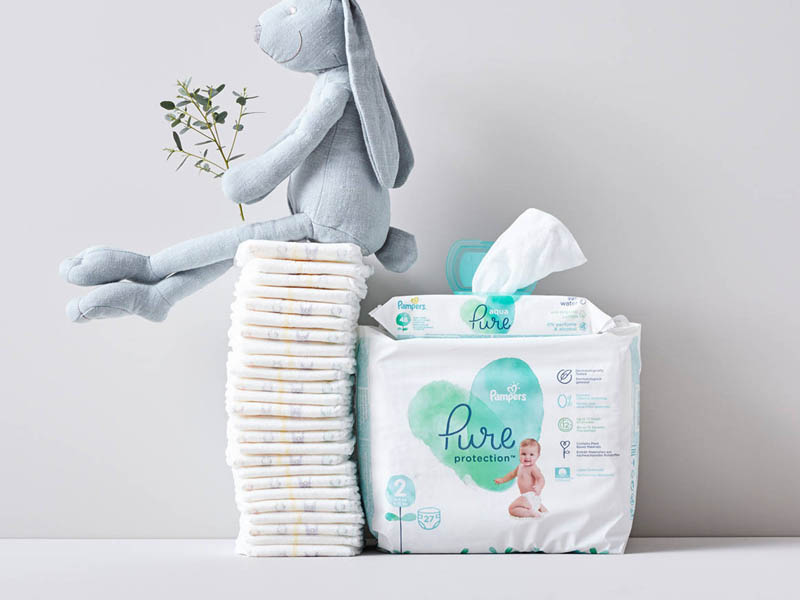 Pampers Pure Protection maten