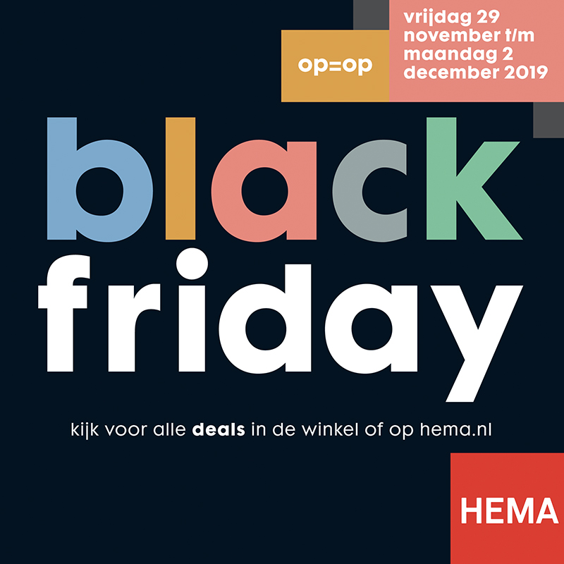 black friday korting hema 2019
