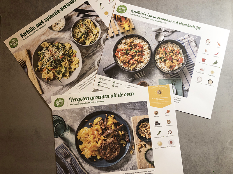hellofresh review box mama rianne koken