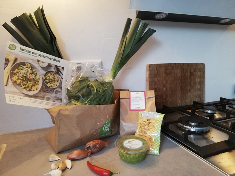 hellofresh review box mama rianne koken familie