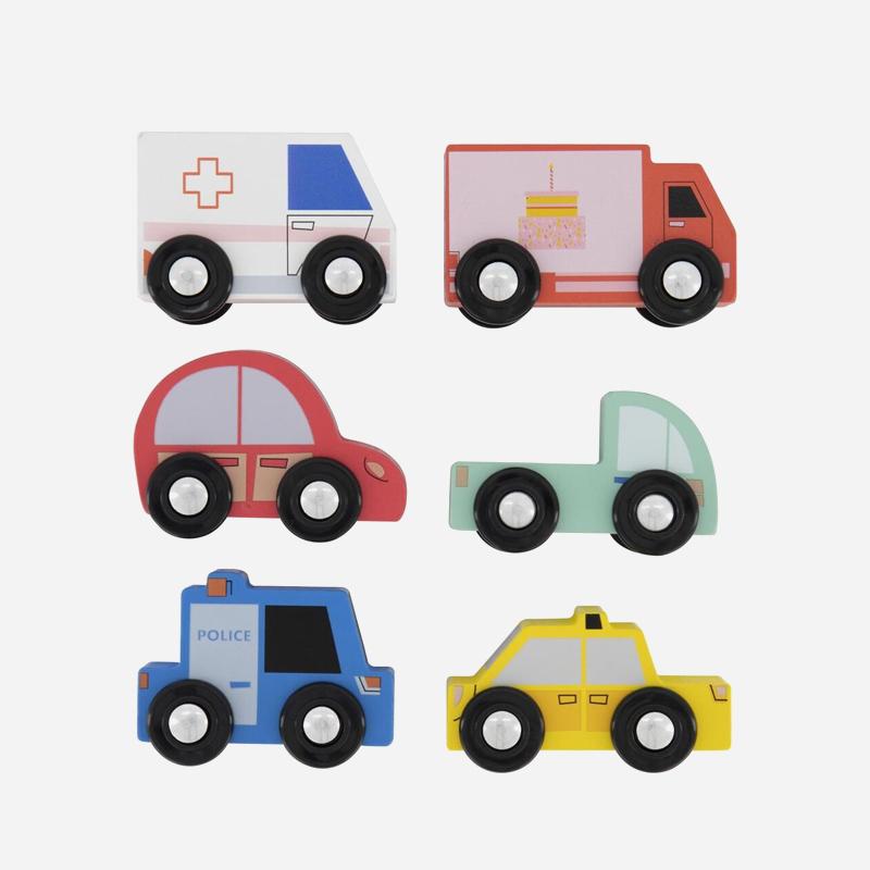 HEMA houten speelgoed 2019 auto's