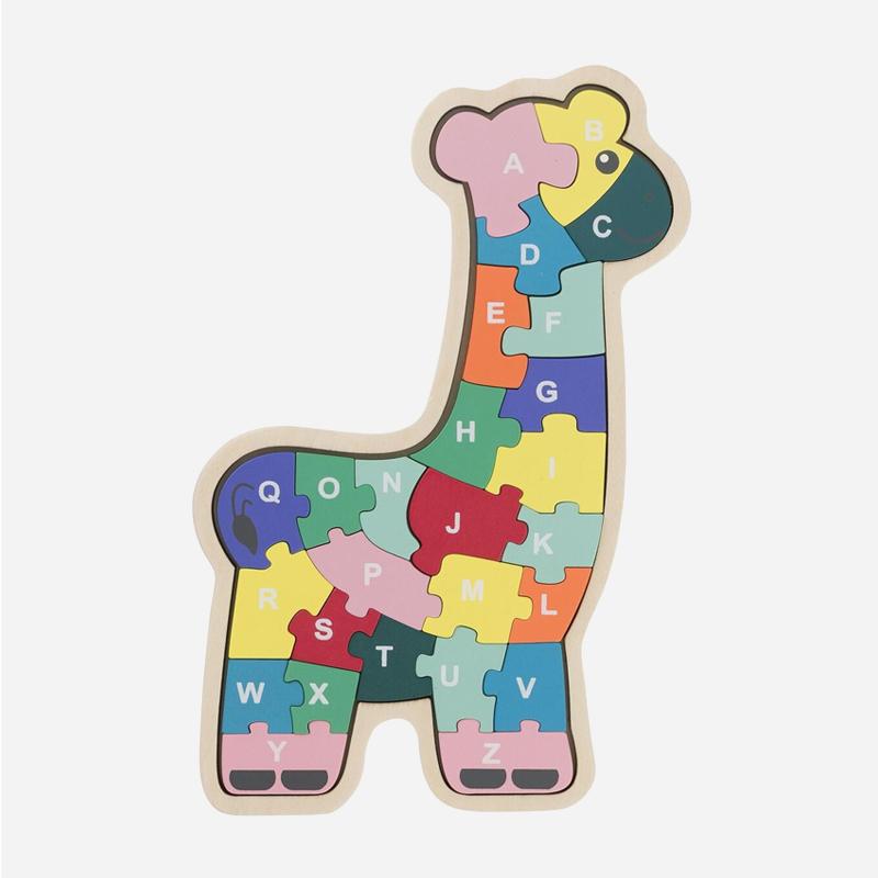 HEMA houten speelgoed 2019 puzzel