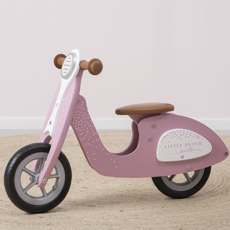 Little Dutch speelgoed scooter roze