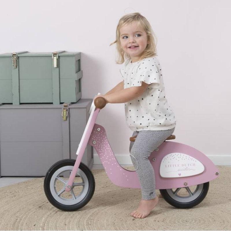 Little Dutch speelgoed scooter roze
