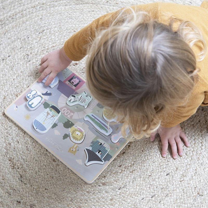Little Dutch speelgoed houten puzzel