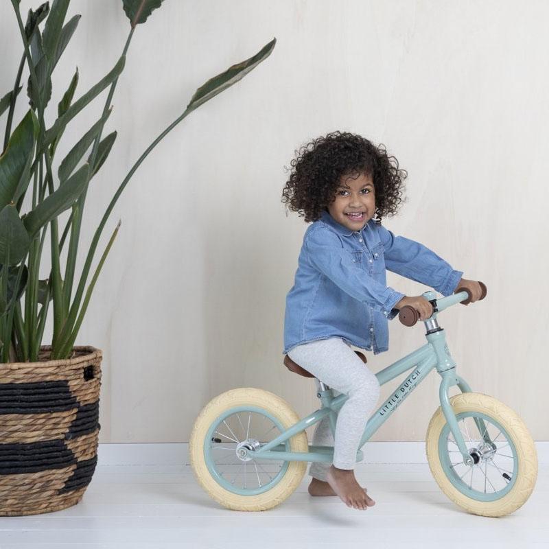 Little Dutch speelgoed fiets mintgroen