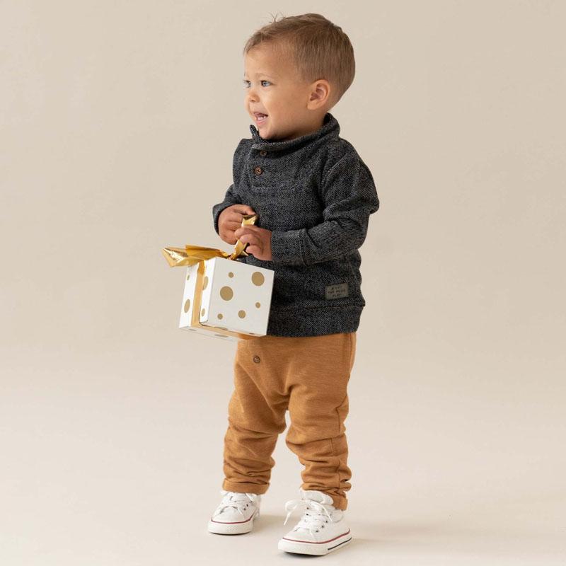 prenatal nieuwe feestcollectie trui