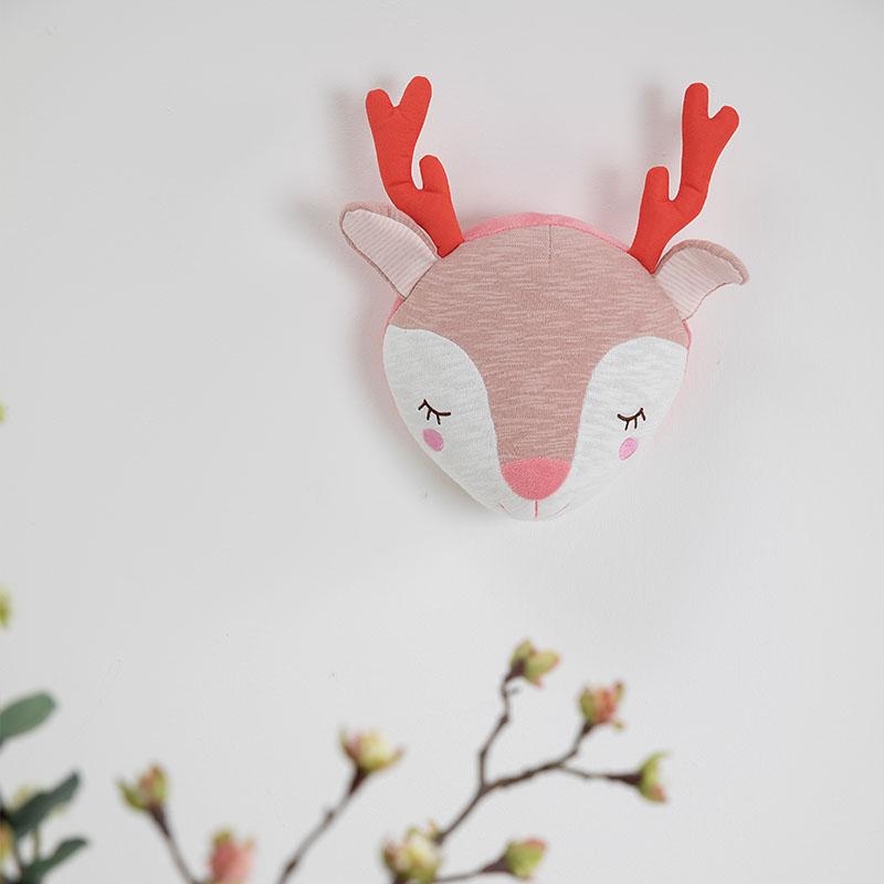 tiamo baby dreamy deer en balletmuizen wanddecoratie