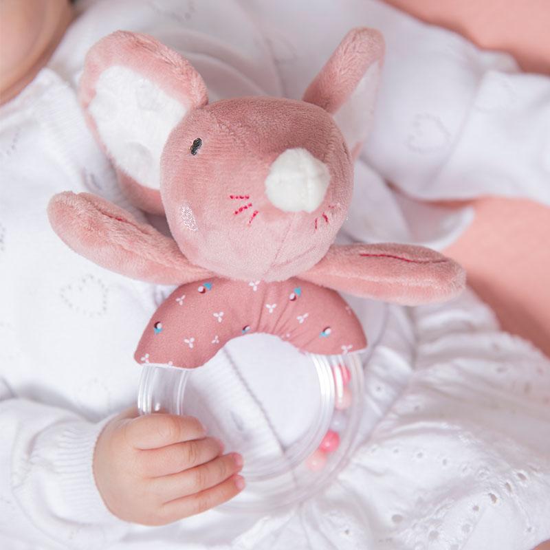 tiamo baby dreamy deer en balletmuizen rammelaar