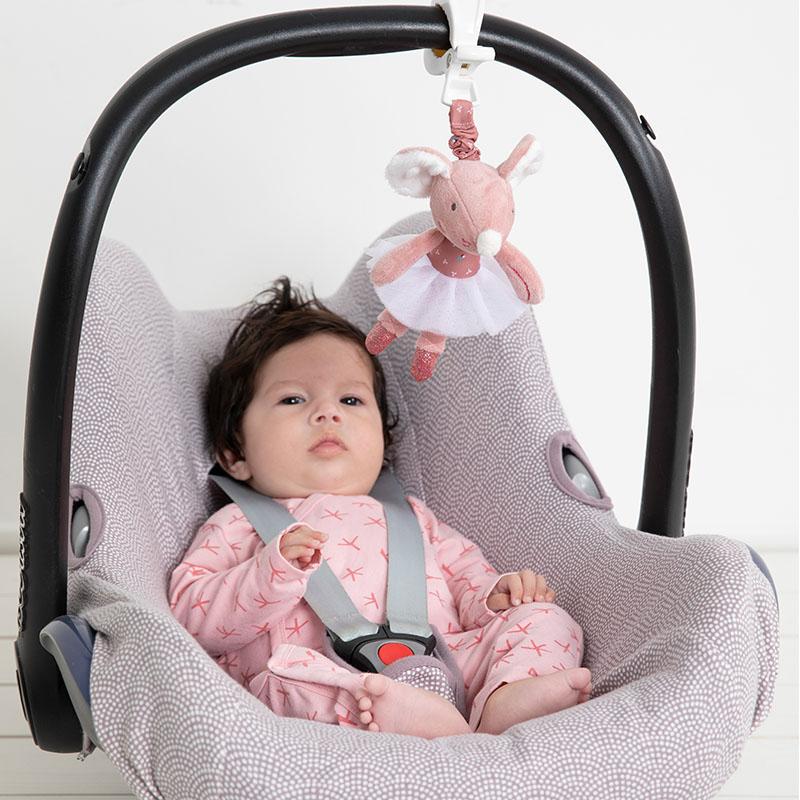 tiamo baby dreamy deer en balletmuizen autostoelspeeltje