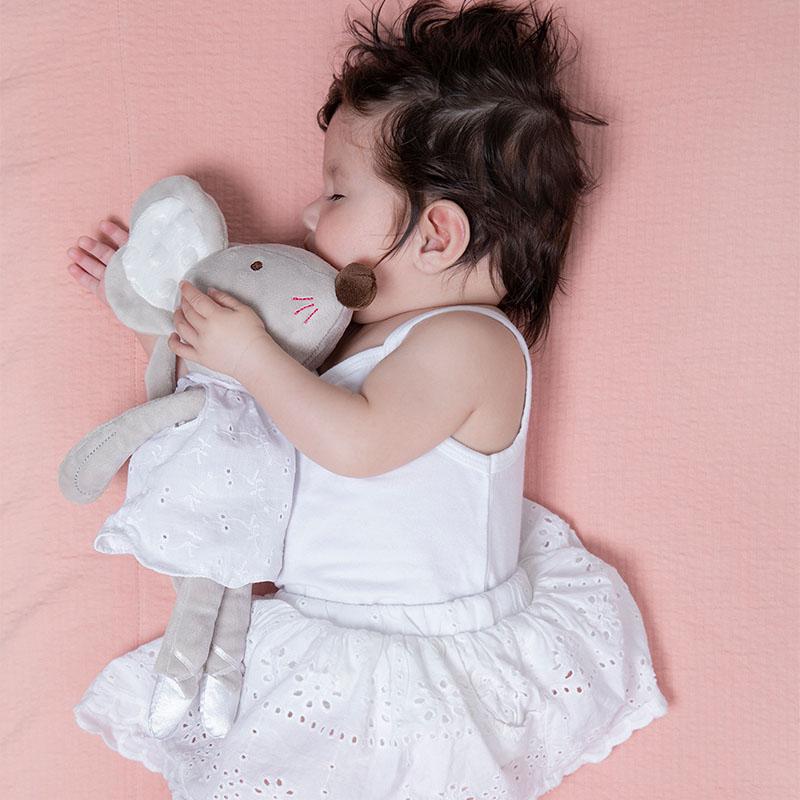 tiamo baby dreamy deer en balletmuizen knuffel