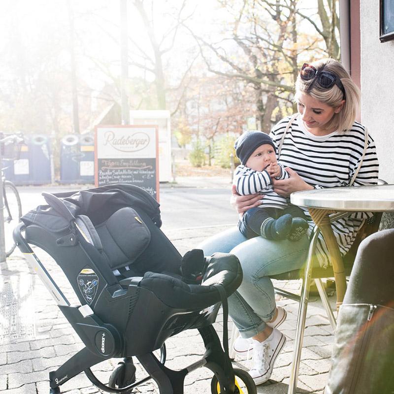 autostoel en kinderwagen Doona