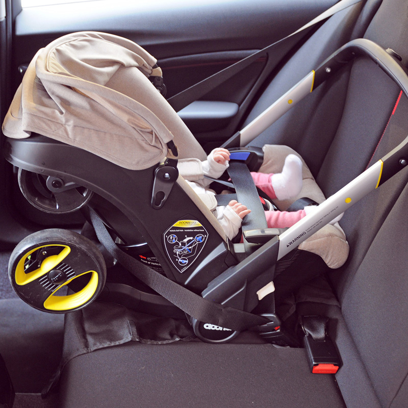kinderwagen en autostoel Doona