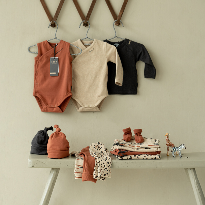 Prénatal newborn collectie Soon little one